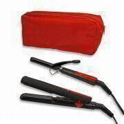 Hair Care Set Indlucing Travel Mini Hair Straightener and Curler from China (mainland)