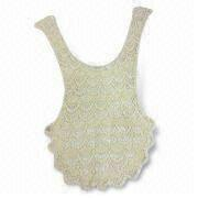 China Embroidered Vest, Available in Various Designs, Small Orders are Welcome