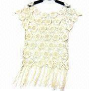 China Fashionable Embroidered Vest, Available in Various Designs, Small Orders are Welcome