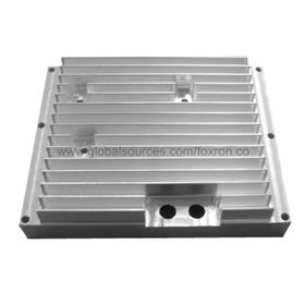 China Aluminum CNC Machined Heat Sink and Extruded