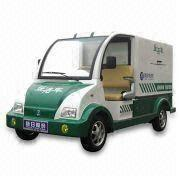 Electric Vehicle with 48V/210Ah Battery Capacity and 4 Wheels, Measures 3700x1400x1800mm