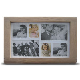 China Collage Photo Frame with FSC Mark, Made of Wood, Available in Various Sizes and Colors