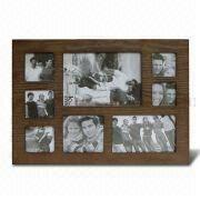 China Collage Photo Frame with FSC Mark, Frame, Made of Wood, Available in Various Sizes and Colors