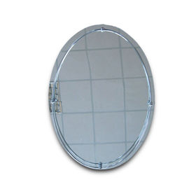 Bathroom Mirror with Metal, Available in Various Sizes and Colors, Can Hang Horizontally