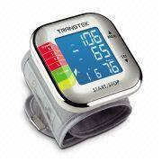 Blood Pressure Monitor with Touch Sensor, Key-lock Switch, and Maximum of 60 Records
