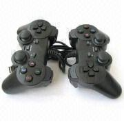 Wholesale usb double pc game contrlller joystick gamepad, usb double pc game contrlller joystick gamepad Wholesalers