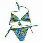 Women's Bikini with Colorful and Shining Feature, Available in Various Sizes