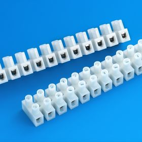Terminal Blocks with Brass Insert and Steel and Zinc-plated Screw, Used for PA Housing