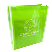 Nonwoven laminated shopping bag, OEM orders are welcome, suitable for brand promotions