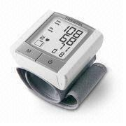Blood Pressure Heart Beat Monitor with Maximum 60 Records, Measures 73 x 70 x 32mm