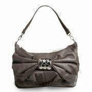 China Handbag, Made of Synthetic Leather/PVC, Comes in Various Designs/Colors, OEM/ODM Orders are Welcome