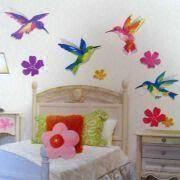 Removable 3D Glitter Wall Sticker from China (mainland)