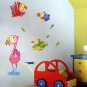 China Removable 3-D Glitter Wall Sticker