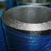 China 0.35 to 0.7mm Thick Small Roll Embossed Aluminum Coil, Suitable for Insulation Materials