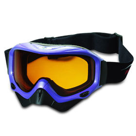 Anti-fog Ski Goggle, Nose Masks Available, Comfortable Face Foam, Helmet Compatible, Air Intake