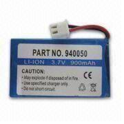 Li-ion Battery Pack with PCB, Connector, Neutral Label from Shenzhen BAK Technology Co. Ltd