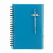 PP Notebook, Customized Sizes, Inside Pages and Logos are Accepted