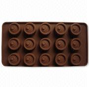 Eye-shaped Silicone Chocolate Mold from China (mainland)