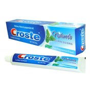 China Croste Pure Peppermint Fresh Toothpaste with 90g Weight, OEM Orders are Welcome