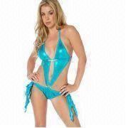Hong Kong SAR Women's Lingerie/Bikini with Hot Stamping Cloth, OEM/ODM Orders Accepted