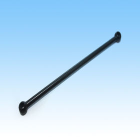 Bolt, Made of Iron with Black Plating, Process by Punching and Turning, RoHS Directive-compliant from HLC Metal Parts Ltd