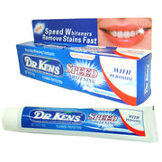 China 100g Speed Whitening Fluoride Toothpaste from DR.KENS, Double Action, Suitable for Adults