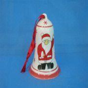 Wholesale Christmas Ceramic Bell Ornament Decoration, Christmas Ceramic Bell Ornament Decoration Wholesalers