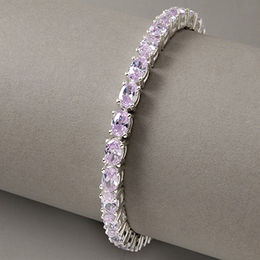 Sterling Silver Gemstone Bracelet from China (mainland)