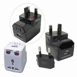 AC Power Converter with LED Indicator, 110 to 240V AC Power, Built-in USB Port and Fuse Protectior from UPO Technical Products Ltd