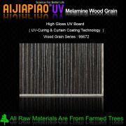 UV painting melamine wood grain paper laminated mdf