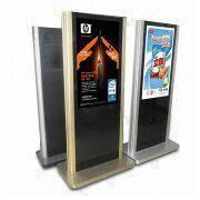 65-inch HD LCD Multimedia Kiosk with Industrial IR Panel and High Brightness, Reliable and Stable