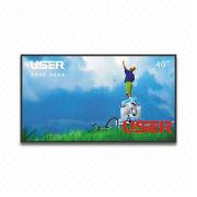 40-inch Narrow Bezel LCD Video Wall with 700cd/m² Brightness and 178° Visual Angle