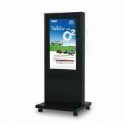 China 42-inch Floor Standing Advertising Player with Resolution of 1920 x 1080P and Contrast of 1500:1