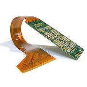 Custom-made Rigid Flexible PCB Design with Gold-plated Surface Finish and Carbon/Silver Ink Printing