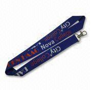 Lanyard, Available in Various Types, Customized Logos and Designs are Accepted