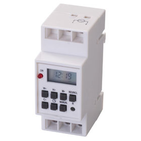 China Digital industry timer with rechargeable Ni-MH battery inside