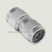1.0 2.3 RF Connector with 1.0 2.3/N M S/T Plug to N M S/T Plug Adapter from EnterTec Technology Inc.