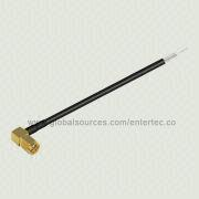 SMA to Mini SMB/UHF/BNC Cable Assembly with Male SMA Right Angle Plug to Strip and Tin Connector from EnterTec Technology Inc.