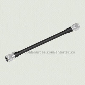 F-type Connector to SMA/BNC Cable with LMR-600 RF Coaxial Cable to SMA/BNC/F/N (M) S/T Plug Both End from EnterTec Technology Inc.