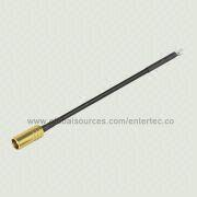 Male Male F Connector to SMA Cable Assembly with F S/T Jack to BNC, MMCX, SMA Plug Connector from EnterTec Technology Inc.