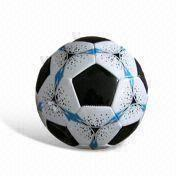 China Official Beach Soccer Ball, Customized Designs are Welcome, Made of PVC Material
