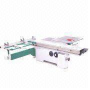 China Sliding Table Saw Manual Lift