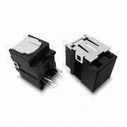 Dip 90 03p POF Jack with Phosphor Bronze Pin and PBT UL94V-0 Housing from Morethanall Co. Ltd