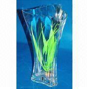 Triangular Glass Vase from China (mainland)