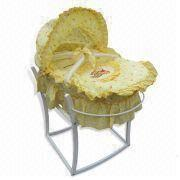 China Japan Natural Environment Friendly Maize Infant Cradle/Swing Baby  Bed, Portable