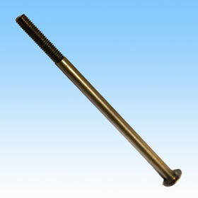 Bolt/Made of Brass/Process by Turning/Knurling/Tapping/Cleaning/Available in Various Purposes/Shapes from HLC Metal Parts Ltd