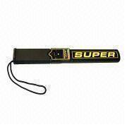 China Handheld Metal Detector with ≤4mA Standby, Lightweight, Measures 340 x 45 x 30mm