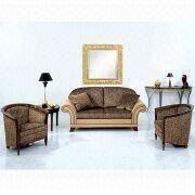 China Living Room Furniture/Fabric Sofa, Used for Hotel, Villa and Club Furniture