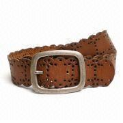 Leather belt from China (mainland)