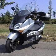 TMAX 4-stroke Motor Scooter/Motorcycle with 499cc Liquid-cooled 4-stroke and V-belt Final Drive